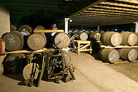 Isle of Skye, Hebrides, Scotland, May 2010. Talisker Distillery in Carbost on the Isle of Skye is the only one on the island. Dutch Tallship Thalassa sails between the islands along the Scotish west coast in search of the quality single malt whisky that is produced by the many distilleries. Photo by Frits Meyst/Adventure4ever.com