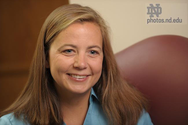 Law School professor Nicole Garnett..Photo by Matt Cashore/University of Notre Dame