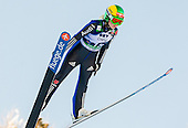 SEYFARTH Juliane of Germany competes during 11th Women FIS Ski Jumping World Cup competition in Planica replacing Ljubno  on January 25, 2014 at HS95, Planica, Slovenia. Photo by Vid Ponikvar / Sportida