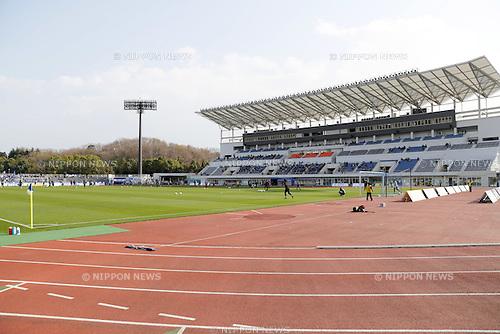 General view, MARCH 20, 2016 - Football /Soccer : 2016 J2 League match between FC Machida Zelvia 2-1 Zweigen Kanazawa at Machida Stadium in Tokyo, Japan. (Photo by Yusuke Nakanishi/AFLO SPORT)