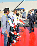 Egyptian President Abdel Fattah el-Sisi, attends Third Youth Conference, in Ismailia, Egypt, on April 25, 2017. Photo by Egyptian President Office