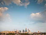 Here is my most recent photo of the Charlotte skyline 2012