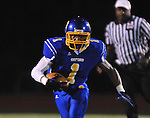 Oxford High's Robert Liggins (1) vs. Senatobia in high school football in Oxford, Miss. on Friday, September 9, 2011. Oxford won 40-20.