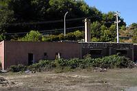 Isola di Gorgona. Vecchio carcere in disuso..Gorgona island.Old disused prison.