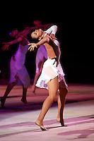 "Anna Bessonova of Ukraine performs in gala at 2008 World Cup Kiev, ""Deriugina Cup"" in Kiev, Ukraine on March 23, 2008."