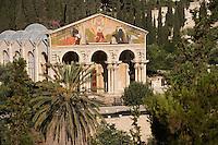 Asie/Israël/Judée/Jérusalem: Eglise de Toutes-les-Nations appelée aussi Eglise de l'Agonie dans le jardin de Gethsémani sur le Mont des Oliviers