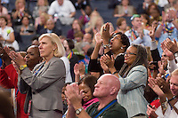 CHARLOTTE, NC - September 4, 2012 - The 2012 Democratic National Convention at the Time Warner Cable Arena.