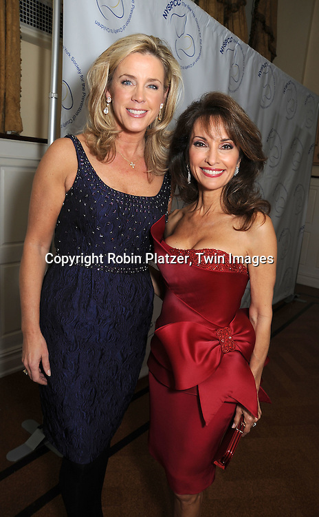 Deborah Norville and Susan Lucci