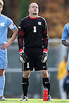 27 November 2011: North Carolina's Scott Goodwin. The University of North Carolina Tar Heels defeated the Indiana University Hoosiers 1-0 in overtime at Fetzer Field in Chapel Hill, North Carolina in an NCAA Men's Soccer Tournament third round game.