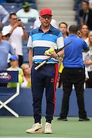 FLUSHING NY- SEPTEMBER 02: Boris Becker seen at Arthur Ashe Stadium at the USTA Billie Jean King National Tennis Center on September 2, 2016 in Flushing Queens. Credit: mpi04/MediaPunch