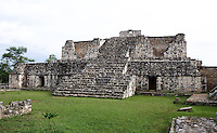 The South Structure, South Plaza, Ek Balam (?Black Jaguar? in Maya), flourished during the Late Classic period between 700 and 1200 AD, Yucatan, Mexico. Picture by Manuel Cohen