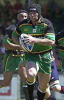 01/06/2002.Sport -Rugby  Union.Zurich Championship - Semi final.Bristol Shoguns_vs_Northampton Saints.Craig Moir   [Mandatory Credit, Peter Spurier/ Intersport Images].