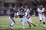 Ole Miss running back Martez Eastland (44) returns a kick-off vs. Louisiana-Lafayette in Oxford, Miss. on Saturday, November 6, 2010. Ole Miss won 43-21.