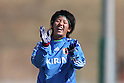 Mai Kyokawa (JPN), ..FEBRUARY 12, 2012 - Football / Soccer : Nadeshiko Japan team training Wakayama camp at Kamitonda Sports Center in Wakayama, Japan. (Photo by Akihiro Sugimoto/AFLO SPORT) [1080]