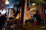 Men at the bar on Wednesday, November 30, 2011 in Webster City, IA.