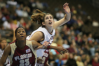 20 March 2006: Brooke Smith during Stanford's 88-70 win over Florida State in the second round of the NCAA Women's Basketball championships at the Pepsi Center in Denver, CO.