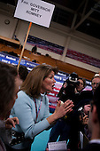 Manchester, New Hampshire<br /> January 5, 2008<br /> <br /> The spin room after the debates with first the Republicans and then the Democrats at Aselm College.