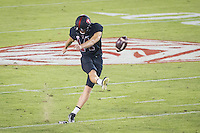 STANFORD, CA - October 8, 2016: Jake Bailey at Stanford Stadium. The Washington State Cougars defeated the Cardinal 42-16.