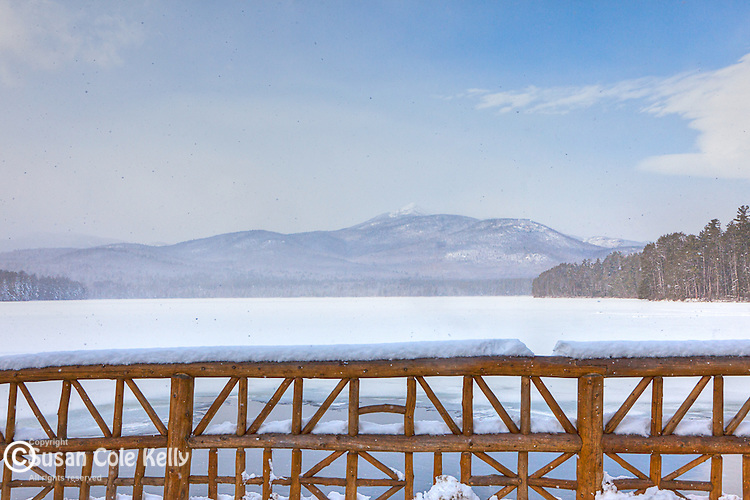 Lake Chocorua in Tamworth, New Hampshire, USA