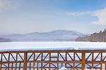 Lake Chocorua in Tamworth, New Hampshire, USA