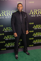 VANCOUVER, BC - OCTOBER 22: David Ramsey at the 100th episode celebration for tv's Arrow at the Fairmont Pacific Rim Hotel in Vancouver, British Columbia on October 22, 2016. Credit: Michael Sean Lee/MediaPunch