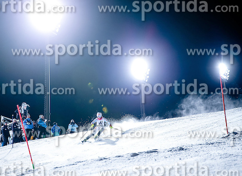13.01.2015, Hermann Maier Weltcupstrecke, Flachau, AUT, FIS Weltcup Ski Alpin, Flachau, Slalom, Damen, 1. Lauf, im Bild Marlene Schmotz (GER) // Marlene Schmotz of Germany in action during 1st run of the ladie's Slalom of the FIS Ski Alpine World Cup at the Hermann Maier Weltcupstrecke in Flachau, Austria on 2015/01/13. EXPA Pictures © 2015, PhotoCredit: EXPA/ Johann Groder