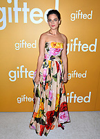 Actress Jenny Slate at the premiere for &quot;Gifted&quot; at The Grove. Los Angeles, USA 04 April  2017<br /> Picture: Paul Smith/Featureflash/SilverHub 0208 004 5359 sales@silverhubmedia.com