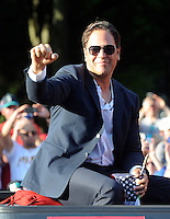 Hall of Fame Legends Parade in Cooperstown