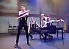 A Clockwork Orange <br /> by Anthony Burgess <br /> directed by Alexandra Spencer-Jones <br /> at Park Theatre, London, Great Britain <br /> press photocall <br /> 15th February 2017 <br /> <br /> Jonno Davies as Alex <br /> <br /> Luke Baverstock as Georgie<br /> <br /> Sebastian Charles as Dim<br /> <br /> <br /> <br /> Tom Whitelock as Pete <br /> <br /> Photograph by Elliott Franks <br /> Image licensed to Elliott Franks Photography Services