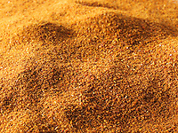 Ground Chilli Powder - stock photo