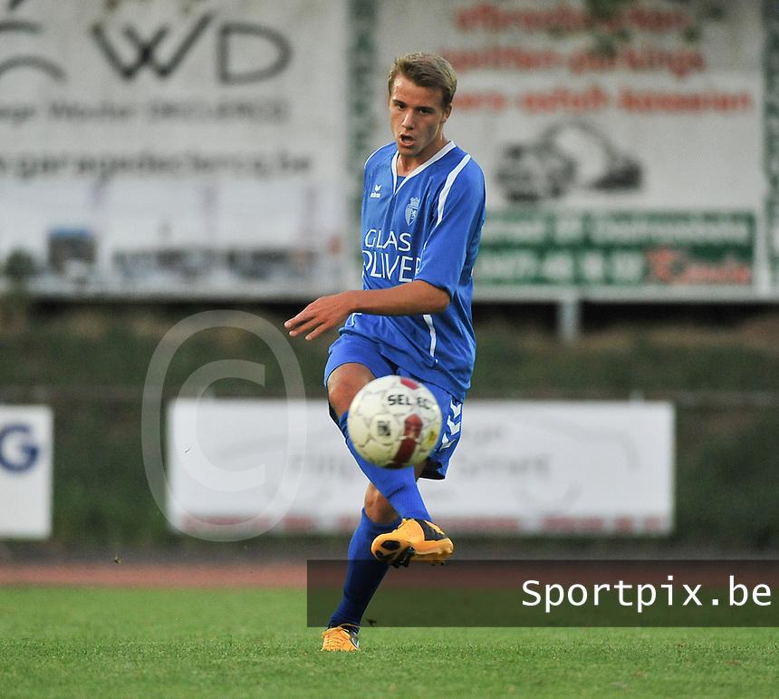 KSV Rumbeke : Naigell Vanfleteren<br /> foto VDB / Bart Vandenbroucke