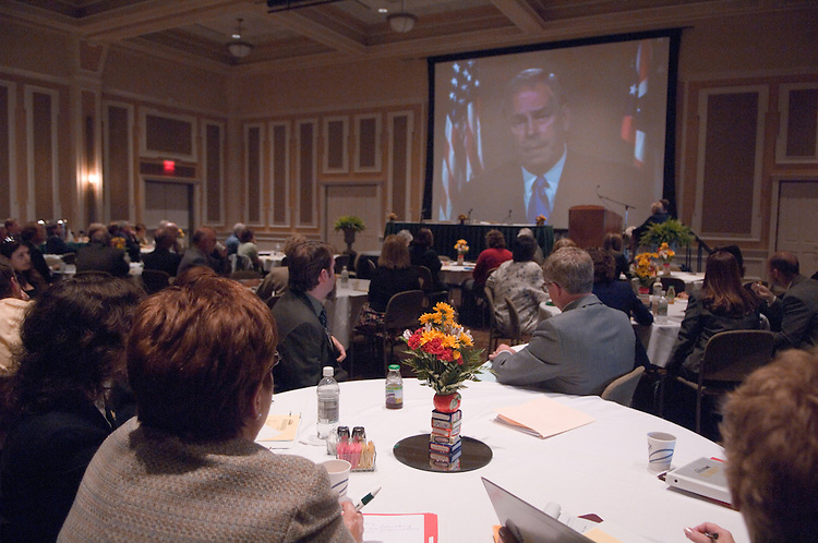 18246Ohio CORE Summit: College of Education....Video Address by Governor Ted Strickland