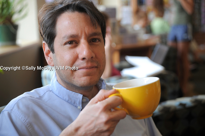 Ernesto Mendez at Henderson's Cafe