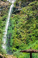 Java, East Java, Batu. Java, Batu. Not far from Malang you can see this small, charming waterfall so typical for Indonesia.