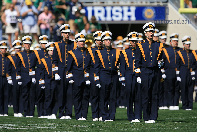Band in the stadium