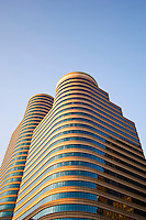 100 and 150 Fifth Street Towers in downtown Minneapolis, Minnesota..