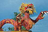 Rose Parade Floats Cal Poly Universities, Fantasy Trophy - 2008 Outstanding Display, Fantasy & Imagination,