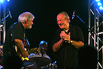 Blues great Charlie Musselwhite plays blues harmonica during the Memphis in May Music Festival.