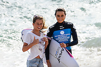 Margaret River, Western Australia. (Tuesday April 1, 2014) Alana Blanchard (HAW)–  The 2014 Drug Aware Margaret River Pro World Championship Tour event kicked off today in solid 6' surf.  Round 1 was completed in good conditions with a couple of upsets with local surfer and injury wildcard Yadin Nichol (AUS) defeating kelly Slater (USA) and Joel Parkinson (AUS) loosing to Adam Melling (AUS).  Photo: joliphotos.com