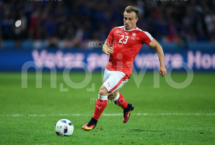 FUSSBALL EURO 2016 GRUPPE A IN LILLE Schweiz - Frankreich     19.06.2016 Xherdan Shaqiri (Schweiz)