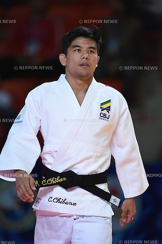 Charles Chibana (BRA), AUGUST 25, 2015 - Judo : World Judo Championships Astana 2015 Men's -66kg 1st round at Alau Ice Palace in Astana, Kazakhstan. (Photo by AFLO SPORT)
