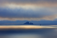 Mystical Sunset Light over Skellig Michael and Little Skellig Island, County Kerry, ireland / sk034 I love the Skelligs,