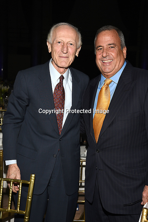 Dr Richard Soghoian and Neil Crespi attend the Columbia Grammar & Prep School 2017 Benefit on March 8, 2017 at Cipriani Wall Street in New York, New York.