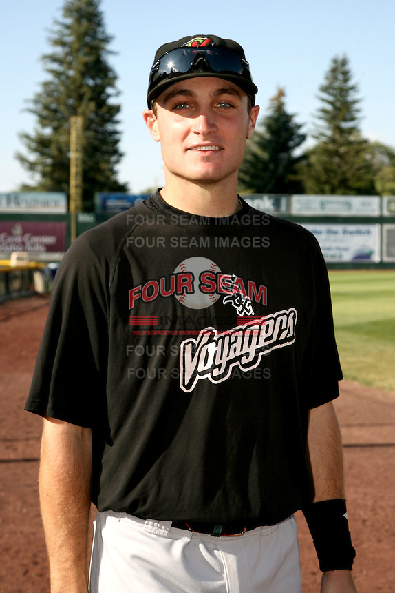 August 14, 2009: Rob Cummings of the Great Falls Voyagers. The Voyagers are Pioneer League affiliate for the Chicago White Sox. Photo by: Chris Proctor/Four Seam Images