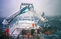 Fishing for opilio crab in the Bering Sea