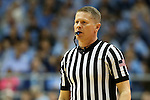 28 December 2015: Referee Jerry Heater. The University of North Carolina Tar Heels hosted the UNC Greensboro Spartans at the Dean E. Smith Center in Chapel Hill, North Carolina in a 2015-16 NCAA Division I Men's Basketball game. UNC won the game 96-63.