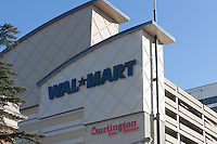The Walmart store in White Plains, New York