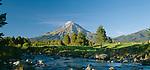 Mount Taranaki(Egmont). Taranaki Region. New Zealand.