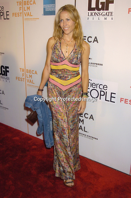 "Sheryl Crow..at the world Premiere of ""Fierce People"" at the Tribeca Film Festival on April 24, 2005 at the Tribeca Performing Arts Center. ..Photo by Robin Platzer, Twin Images"