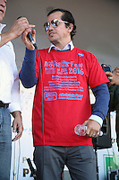 PHILADELPHIA, PA - SEPTEMBER 25 : Award-winning actor, producer and writer John Leguizamo pictured campaigning for Hillary Clinton at the Hispanic heritage event in Philadelphia, Pa on September 25, 2016   photo credit  Star Shooter/MediaPunch